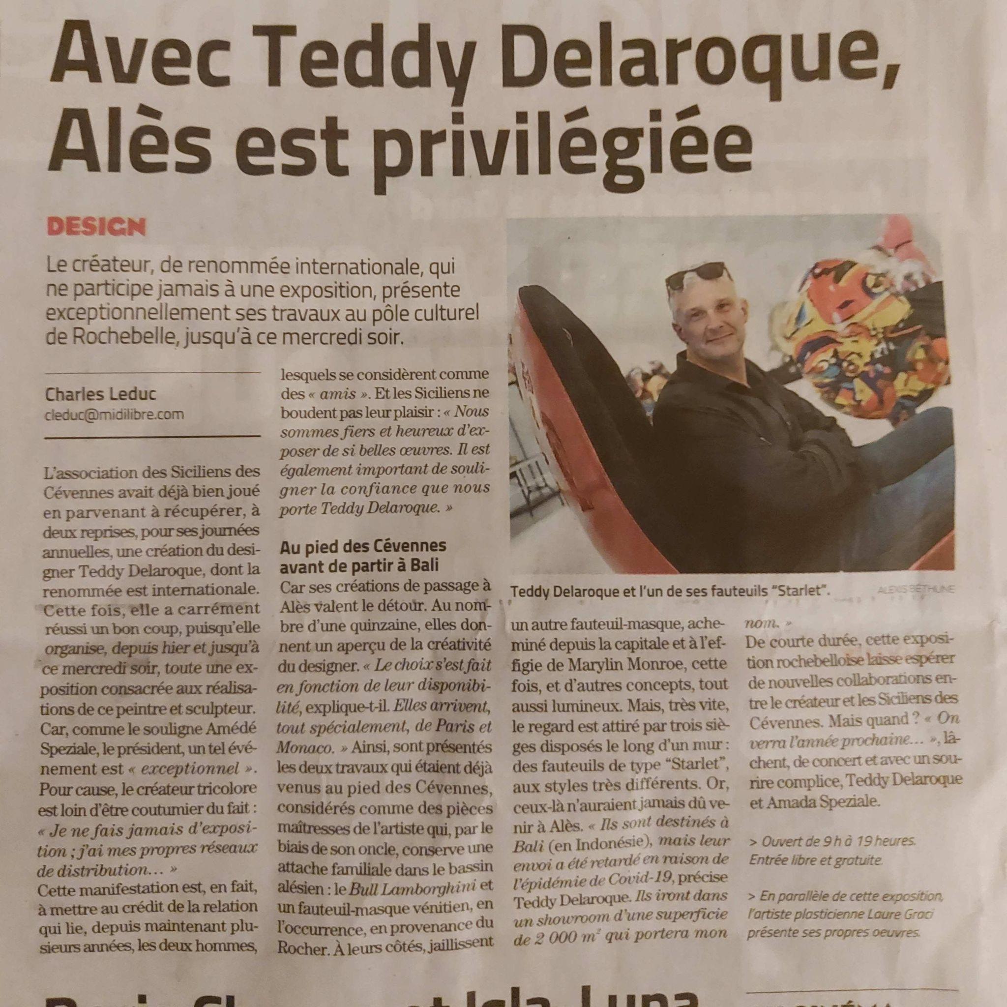Teddy Delaroque Midi Libre