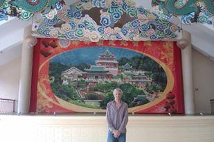 teddy delaroue au temple taoist