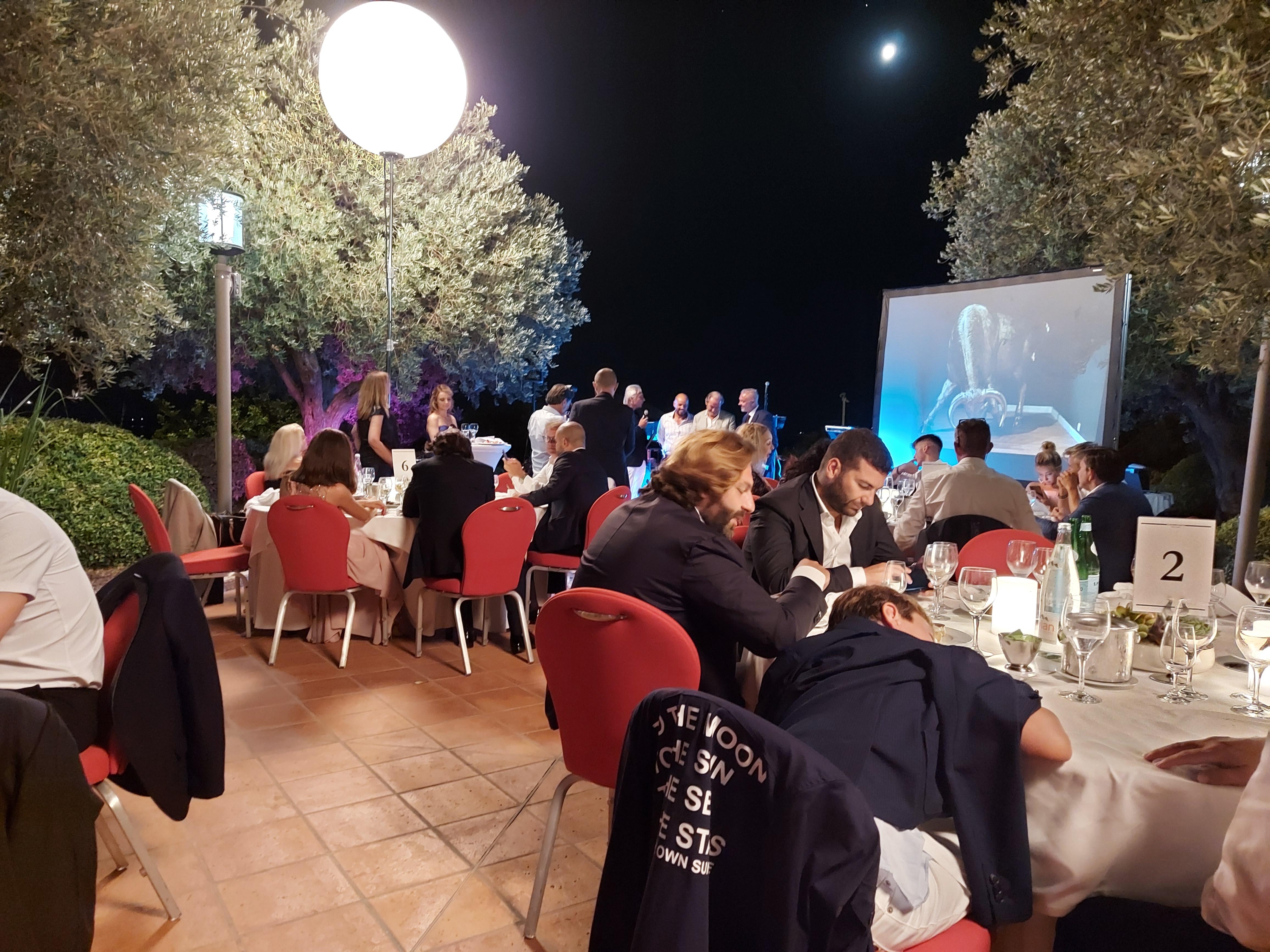 soirée de Gala Lamborghini Monaco