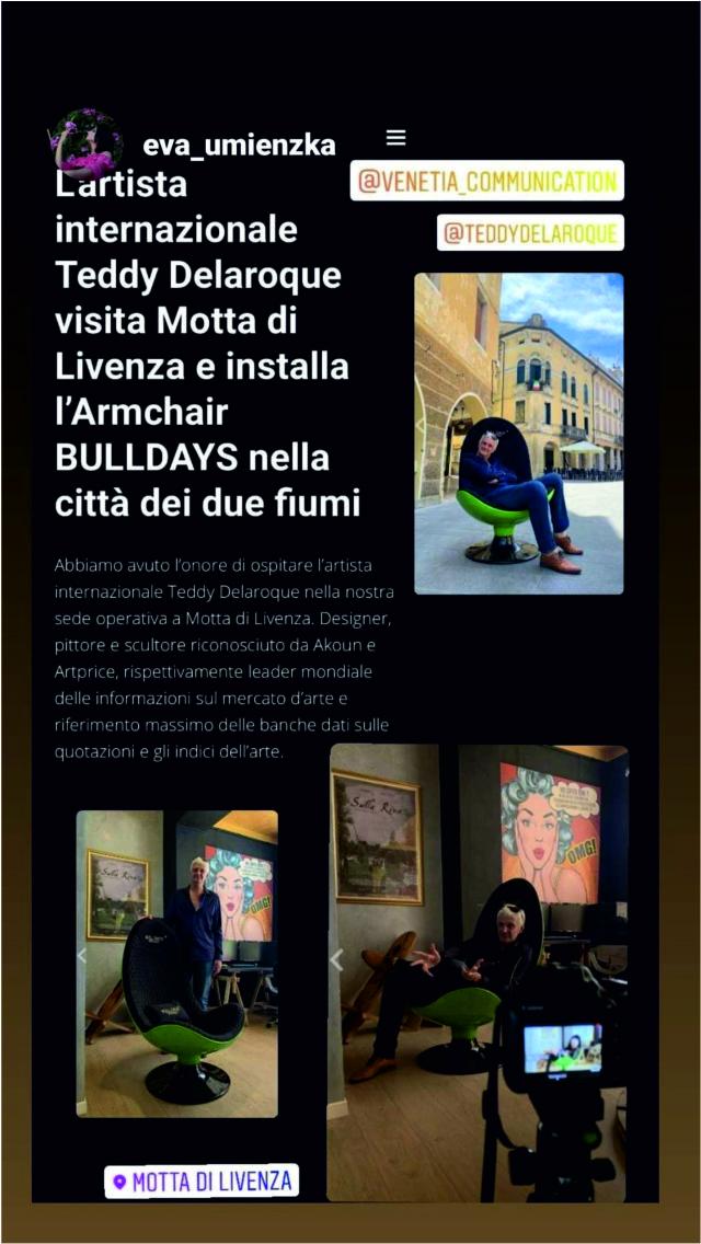 INTERVIEW ITALIE AVEC EVA