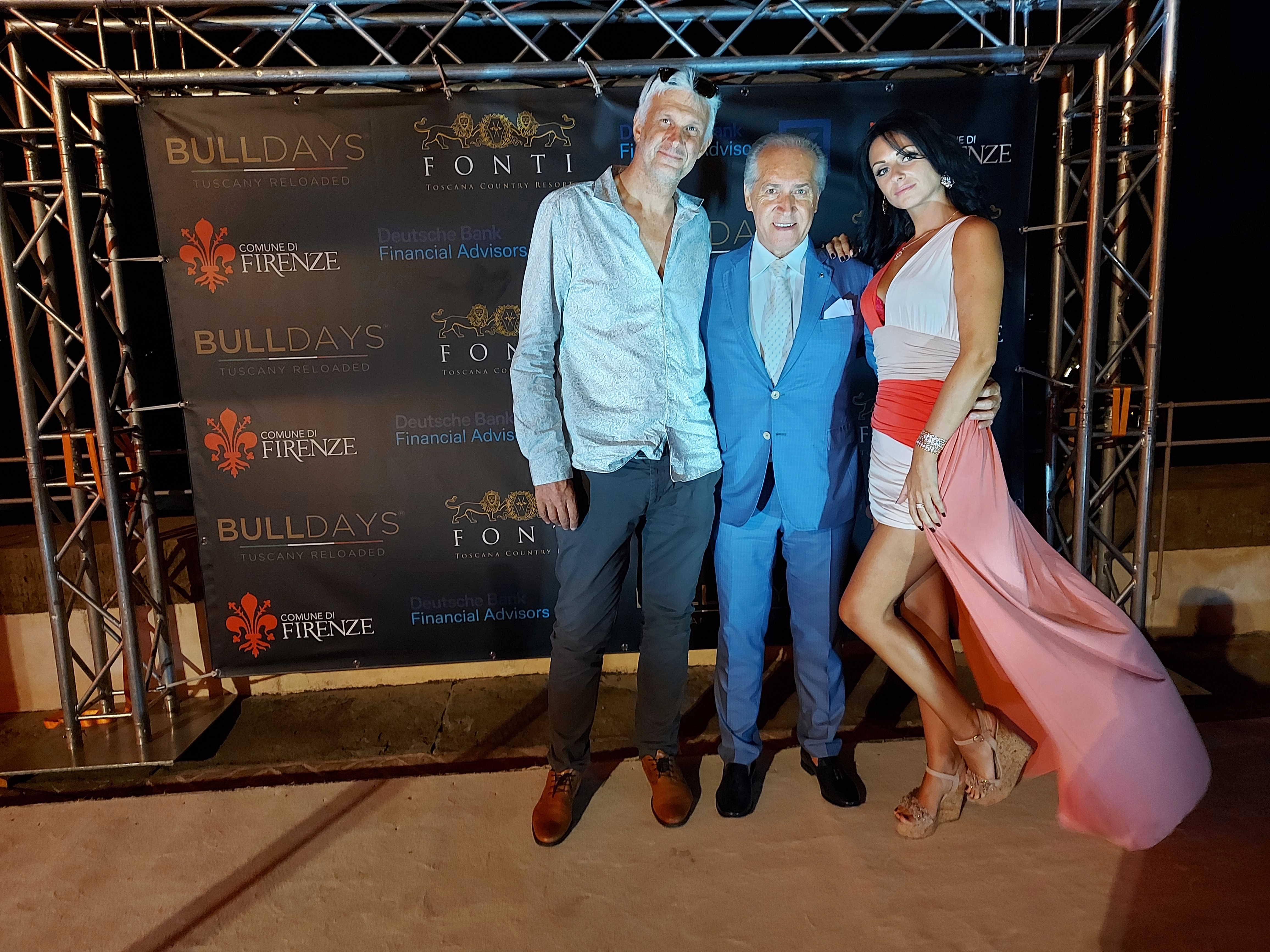 Teddy Delaroque et Fabio Lamborghini
