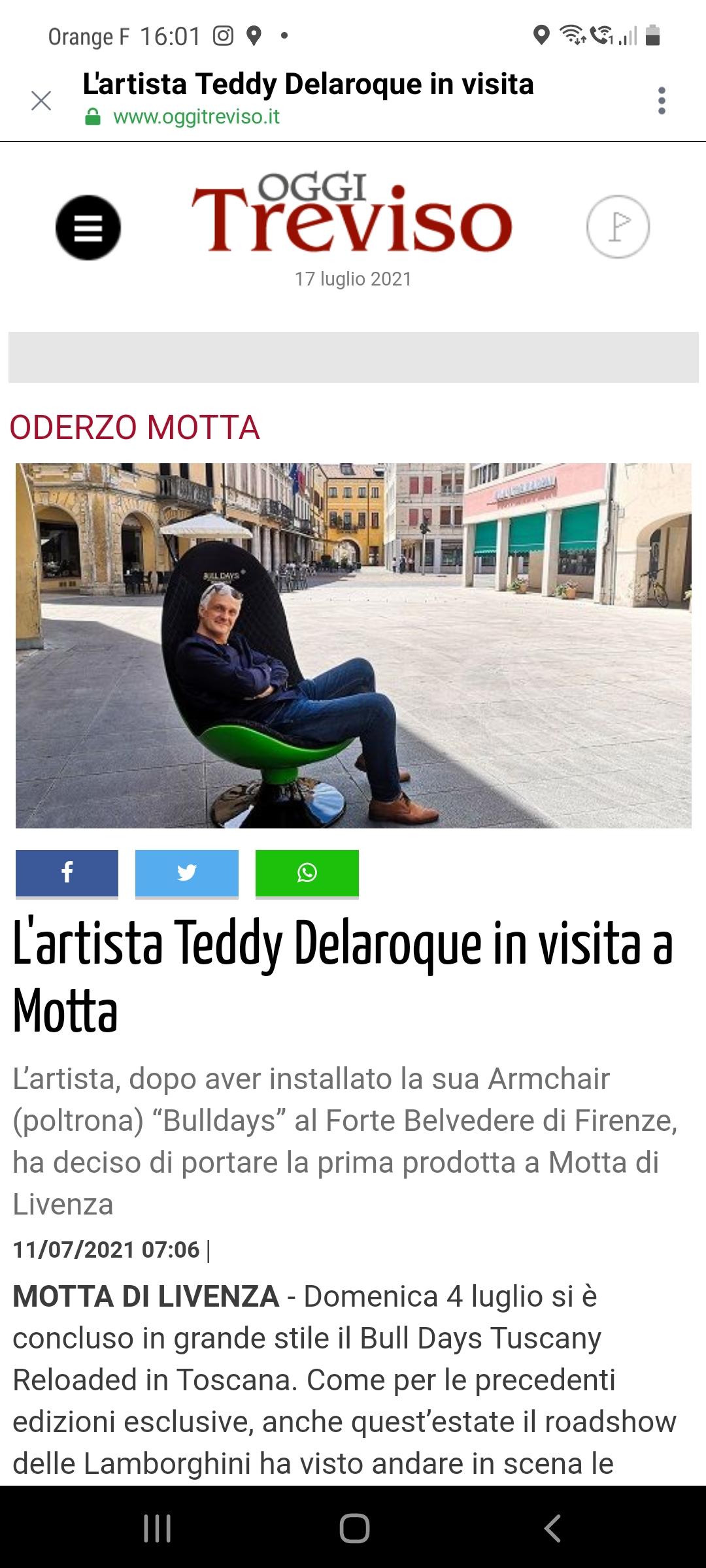 INTERVIEW ITALIE