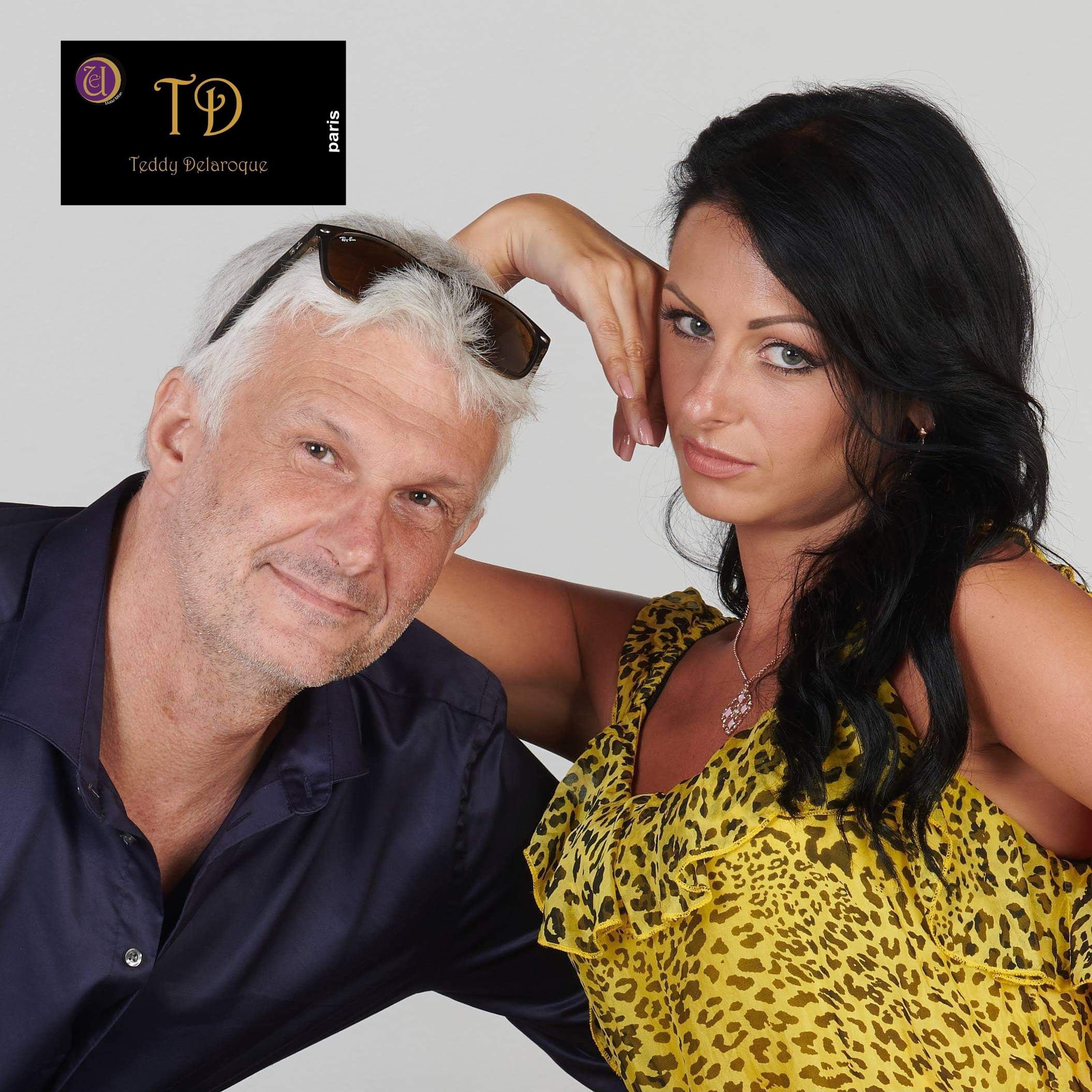 Eva avec Teddy Delaroque