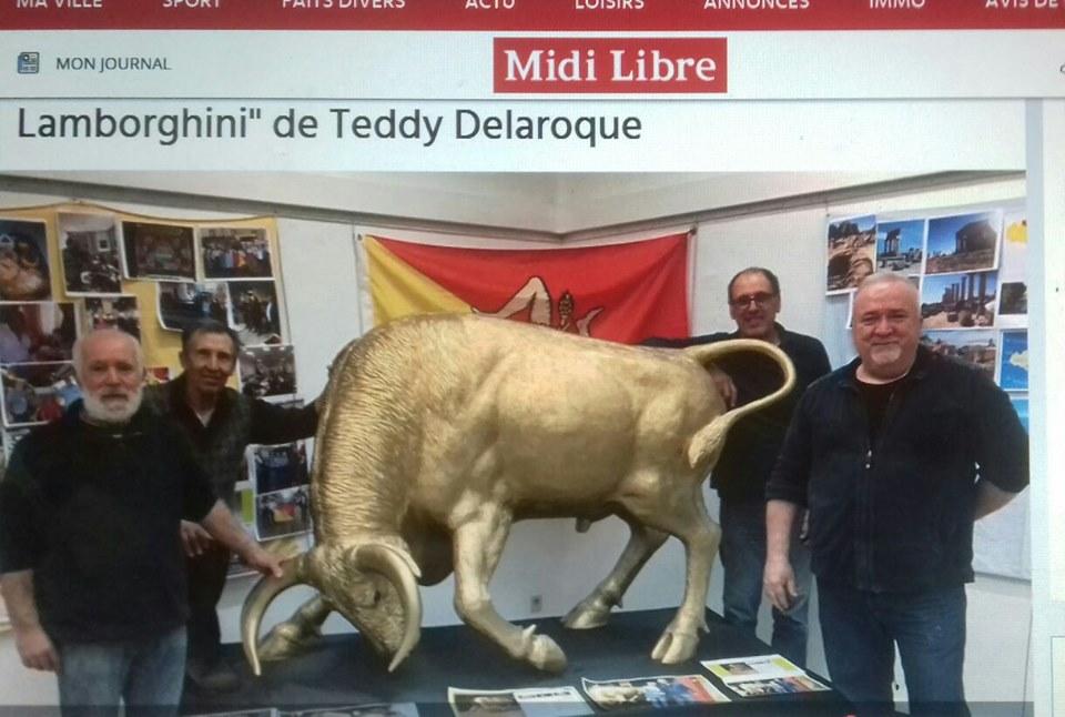 reportage de teddy delaroque dans midi libre