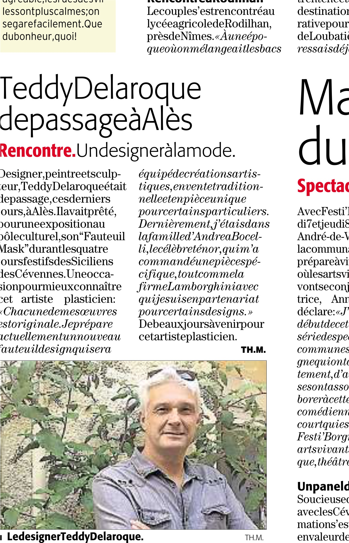 interview avec midi libre
