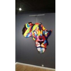 Wall Sculpture .the King